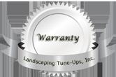 Tampa Landscaper Warranty