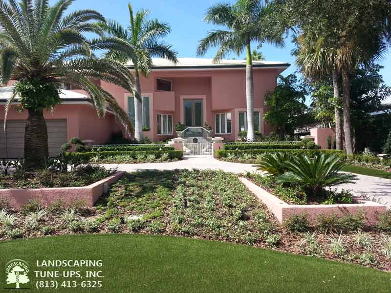 Landscapers Tampa Landscaping Tune-Ups, Inc. Can Change The Whole Look Of Your Home - (813) 413-6325